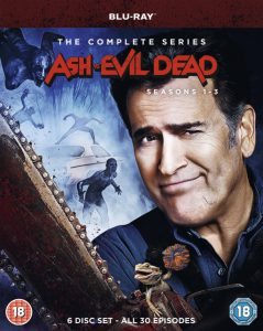 The Complete 'Ash vs Evil Dead' Series Hits Blu-ray & DVD in the UK