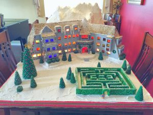 Check Out This Incredible Gingerbread Recreation of the Overlook Hotel from 'The Shining'
